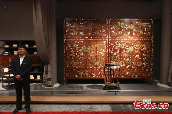Palace Museum opens first furniture-themed exhibition