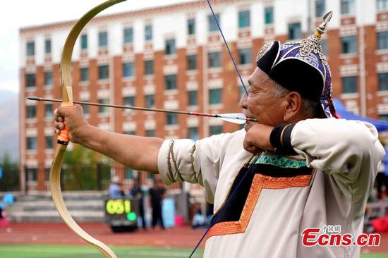 1,204 compete in Qinghai archery contest