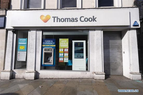British travel giant Thomas Cook collapses after rescue failure