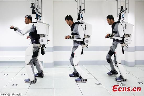 Scientists create working exoskeleton that allows paralyzed man to walk
