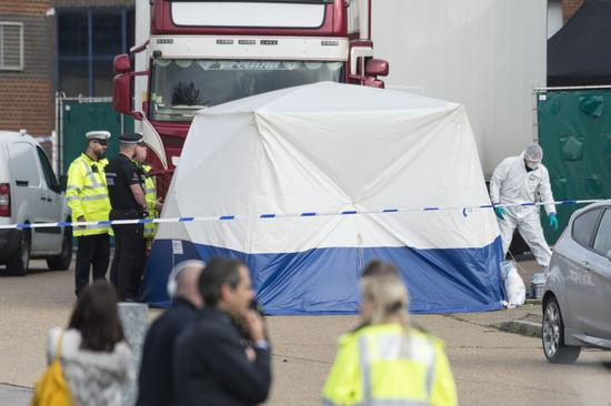 Lorry deaths shock Britain and beyond, raising concerns over illegal immigration