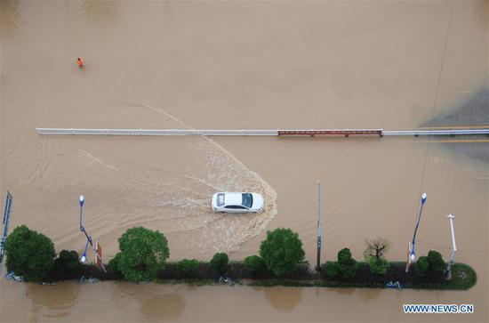 320,000 people affected by downpours in China's Guangxi