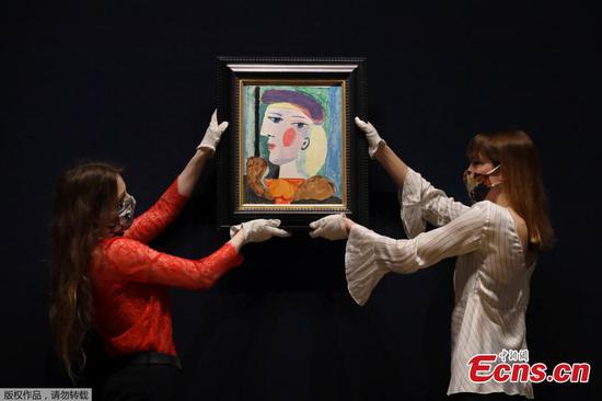 40-year unseen Picasso portrait showcased in London