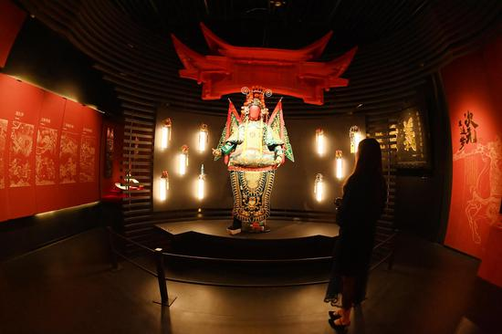 The 'Three Kingdoms' exhibition held in Chengdu